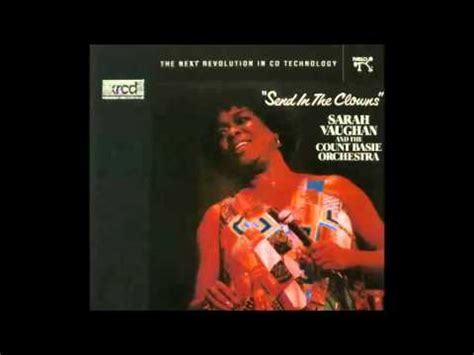 Sarah Vaughan & The Count Basie Orchestra  Just Friends