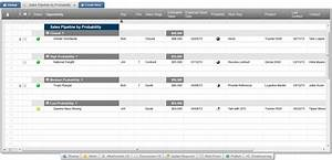 review of smartsheet the crm in a spreadsheet With sales management tools templates