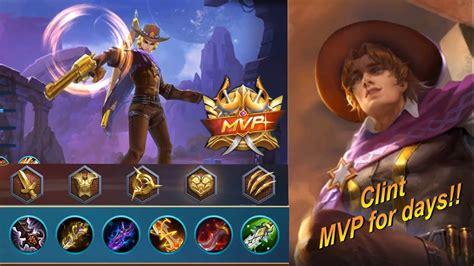 Mobile Legends Best Clint Build Of All Time
