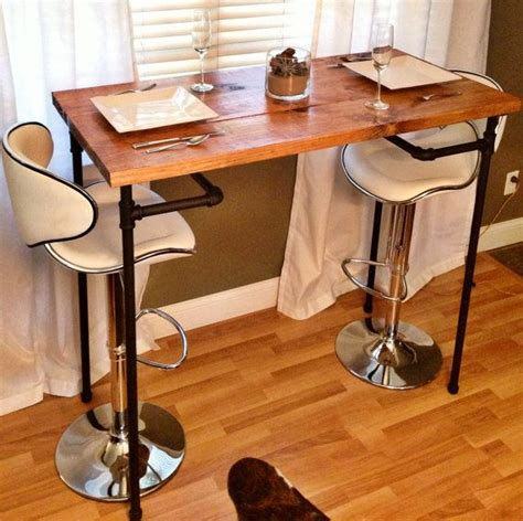 diy bar height dining table woodworking projects plans