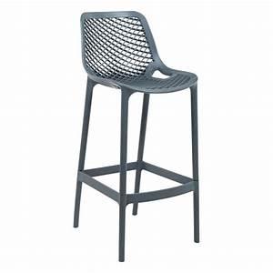 Chaise De Bar Exterieur : tabouret moderne en polypropyl ne air 4 pieds tables chaises et tabourets ~ Melissatoandfro.com Idées de Décoration