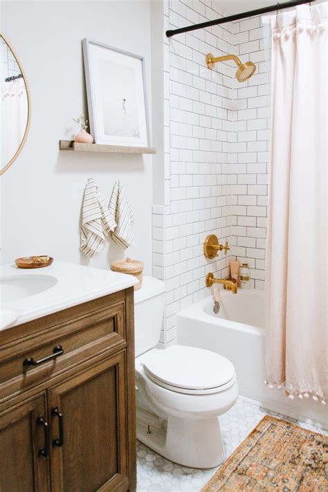 Bathroom Shower Ideas On A Budget by Home Depot Bathroom Renovation Popsugar Home