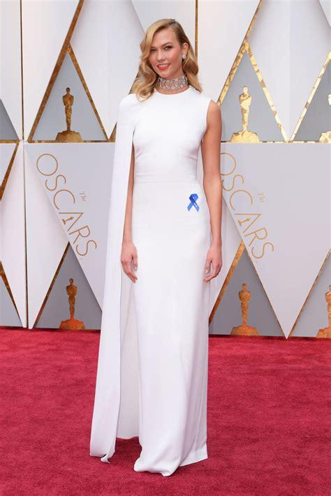 Karlie Kloss Oscars Red Carpet Hollywood