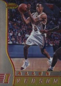 allen iverson rookie card checklist gallery list