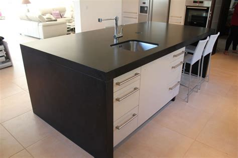 table ilot centrale cuisine maison design bahbe com