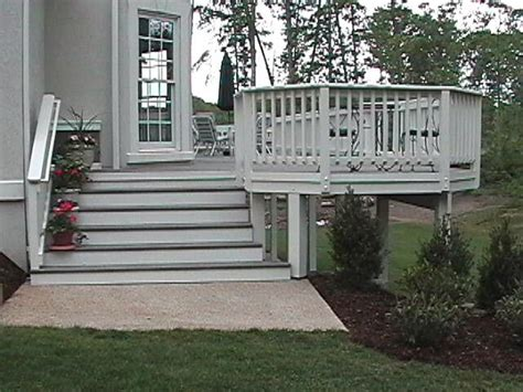 images  deck design stairs benches