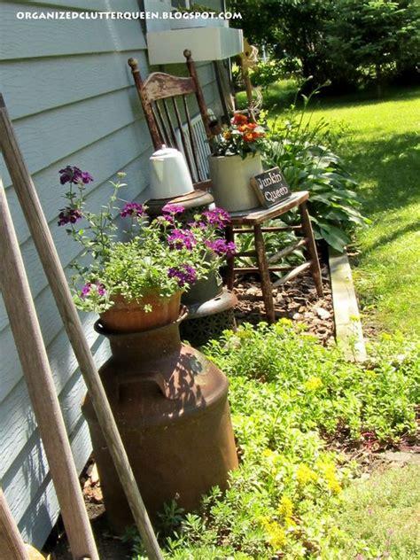 Organized Clutter The Junk Garden Queen Yard Ideas