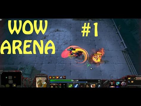 wow arena dota 2 2v2 match 1 nunca separados gameplay espa 241 ol youtube