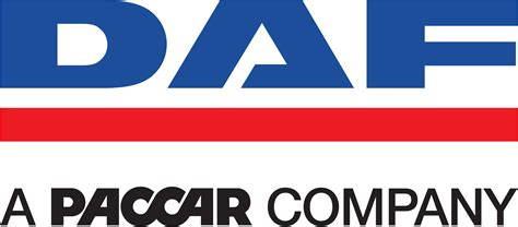 paccar logo daf logo with tagline a paccar company logos download