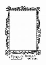 Mirror Template Hand Coloring Preschool Templates Held Drawing Pages Sheet sketch template