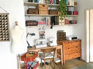 Nähzimmer Einrichten Mit Ikea : n hecke einrichten und organisieren green bird diy mode deko und interieur ~ Orissabook.com Haus und Dekorationen