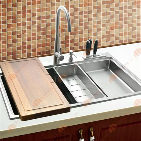 top stainless steel kitchen sinks stainless steel drop in kitchen sinks the homy design 9493