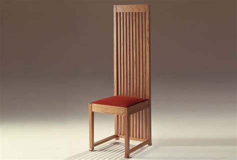 robie 1 chair by frank lloyd wright for cassina