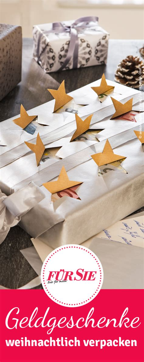 geldgeschenke weihnachtlich verpacken geldgeschenke weihnachtlich verpacken f 252 r sie