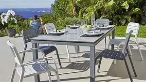 Table Pour Terrasse : nouvelle collection de mobilier de jardin chez carrefour ~ Teatrodelosmanantiales.com Idées de Décoration