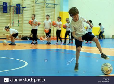 exercises for primary school moscow russia april 7 2016 primary school students