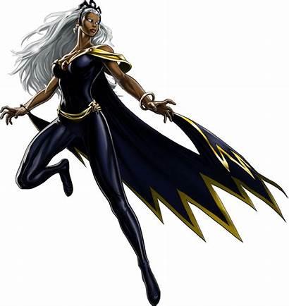 Storm Marvel Comic Classic Avengers Profile Tormenta