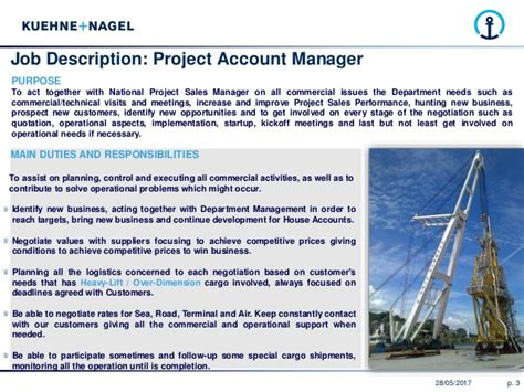 Project Account Manager