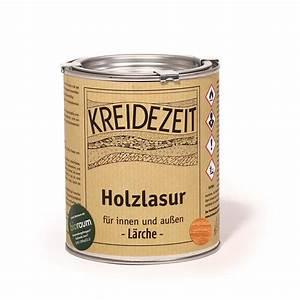 Holzlasur Farben Innen : kreidezeit holzlasur l rche kreidezeit naturfarben shop ~ Markanthonyermac.com Haus und Dekorationen