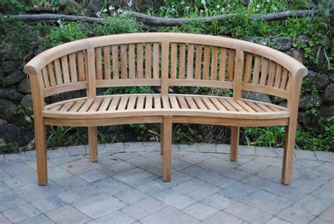 curved san francisco bench