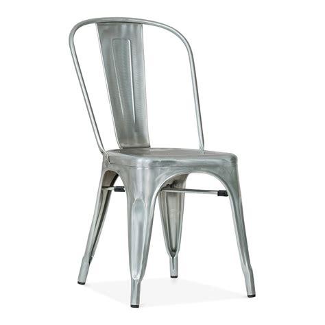 Tolix Armchair by Xavier Pauchard Style Galvanised Industrial Metal