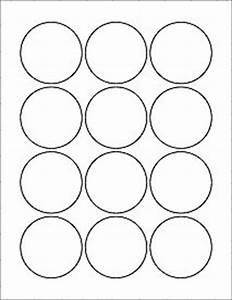 amazoncom 6 sheets 72 2 1 4quot round circle white With circle sticker printer paper