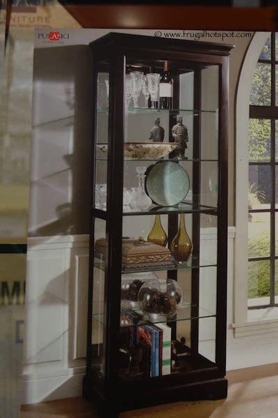 Costco Pulaski Cambridge Sliding Door Curio Cabinet