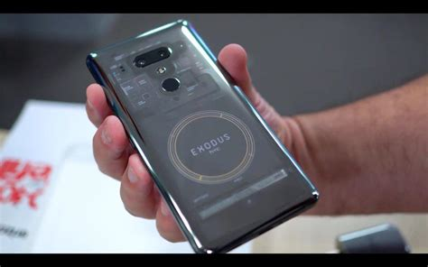 the htc exodus 1 blockchain phone is here and it s