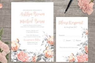 print wedding invitations rosa free floral wedding invitation printable from appleberry press onefabday