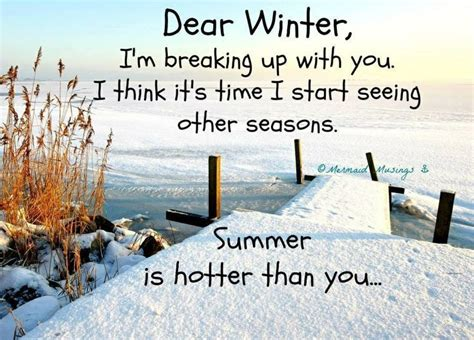 Hate Winter Weather Quotes