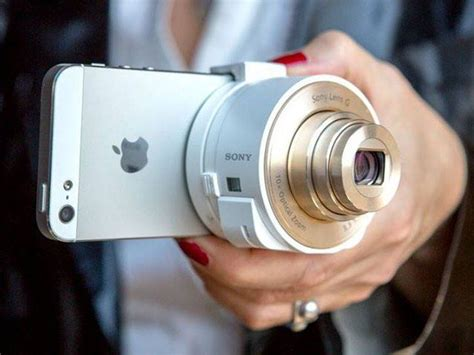Sony Attachable Zoom Lens For Smartphones Creative