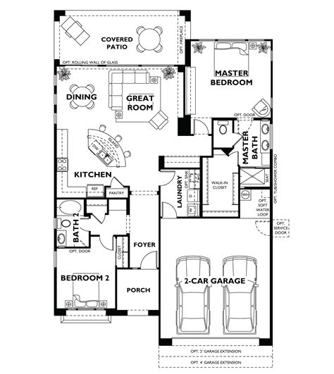 trilogy  vistancia st tropez floor plan model shea trilogy vistancia home house floor plans
