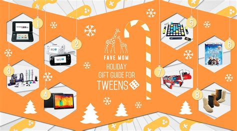 holiday gift guide for tweens 2014