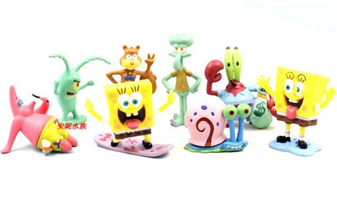 aquarium landscaping spongebob 8pcs set aquarium fish tank