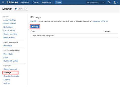 baixar repository git ssh access