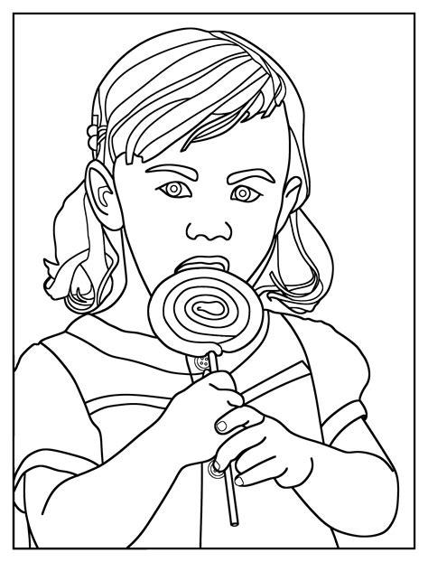 lollipop coloring pages  coloring pages  kids