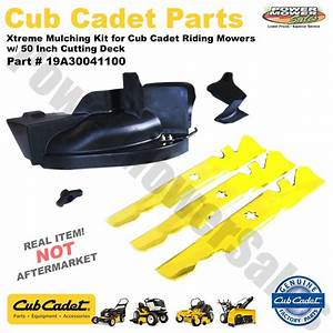 19a30041100 Cub Cadet Xtreme Mulching Kit For Riding