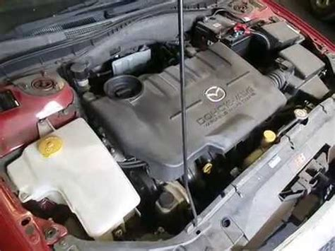 how cars engines work 2006 mazda mazda3 navigation system wrecking 2004 mazda 6 engine 2 3 j14643 youtube