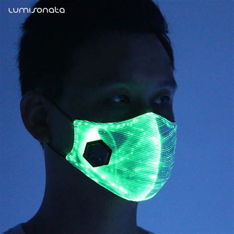light up masks for raves yq 110 2017 new light up sound activated