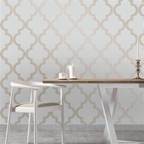 tempaper bronze grey marrakesh wallpaper ma  home
