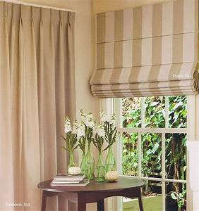 Curtain blinds 2017 grasscloth wallpaper for Curtains that look like roman shades