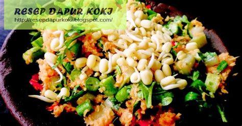 Makanan ini berasal dari indonesia. Resep Bumbu Urap Sayur Kelapa Enak - RESEP DAPUR KOKI