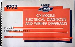 1992 Chevy C K Pickup Truck Suburban Blazer Electrical