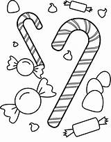 Candy Coloring Pages Printable sketch template