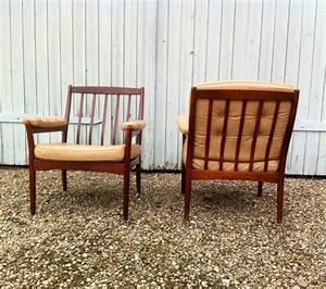 Mid Century Möbel : mid century leather lounge chairs from g m bel sweden ~ A.2002-acura-tl-radio.info Haus und Dekorationen