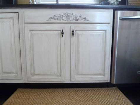How To Paint And Distress Cabinets by How To Design With Milk Paint Kitchen Cabinets My