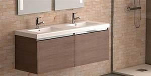 stunning meuble double vasque 100 cm contemporary design With meuble de salle de bain contemporain haut de gamme