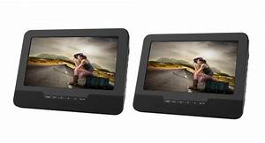 9 U2033 Dual Dvd Dual Screen Portable Dvd Player