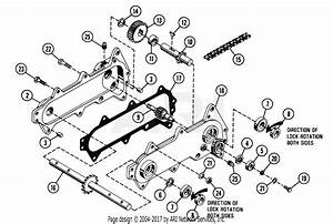 Gravely 35198 26 U0026quot  Tiller 1100 Tractor 1200 Tractor Parts Diagram For Tiller Chain Case