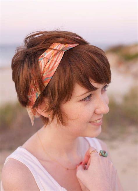 photo  short haircuts  headbands